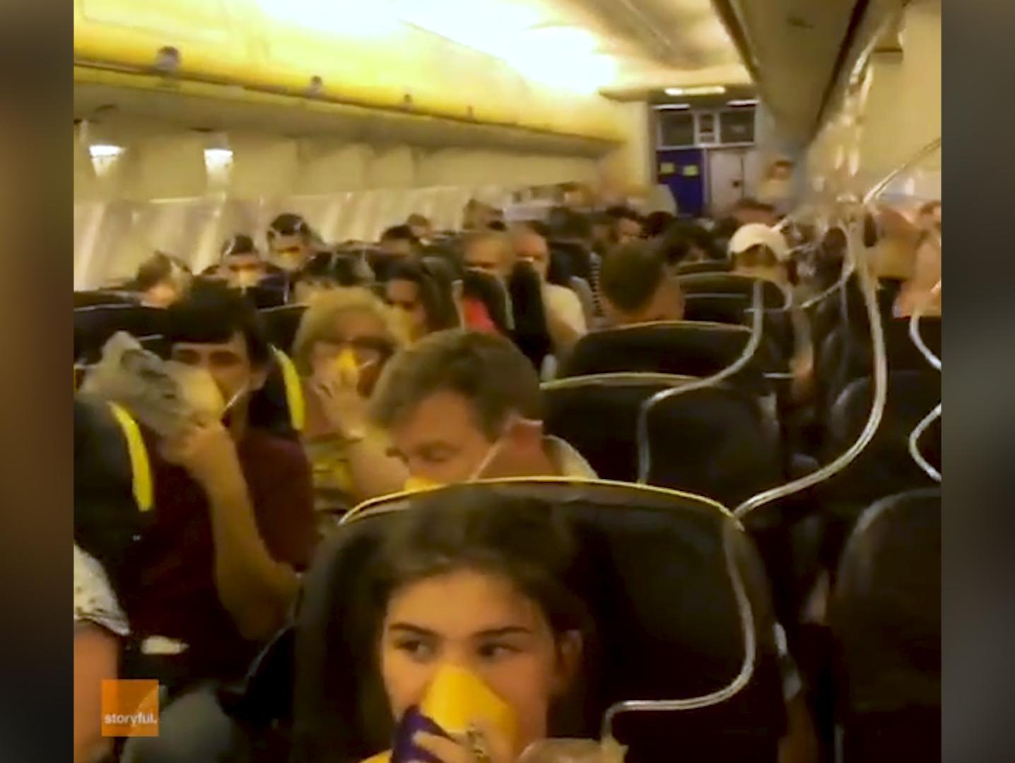 דם מהאוזניים: טיסת אימים של