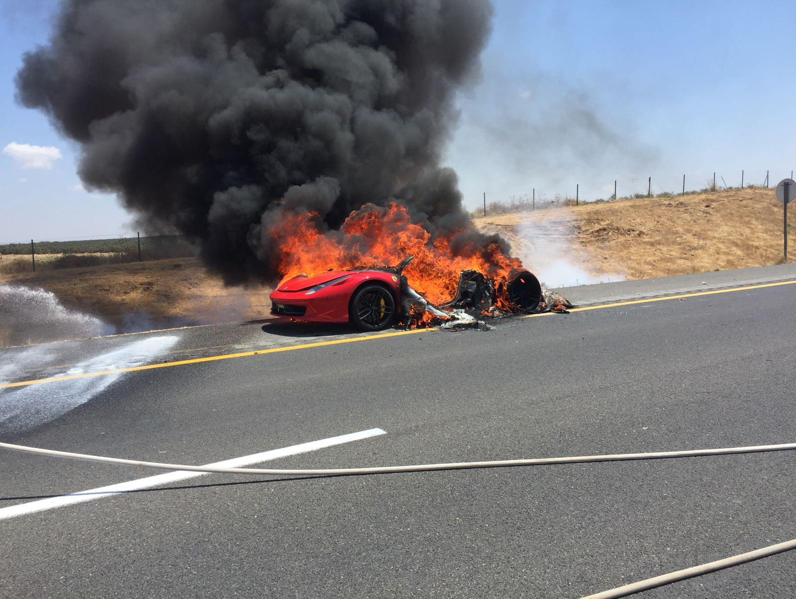 לא רק פרארי: האם המכונית שלכם בסכנת התלקחות?