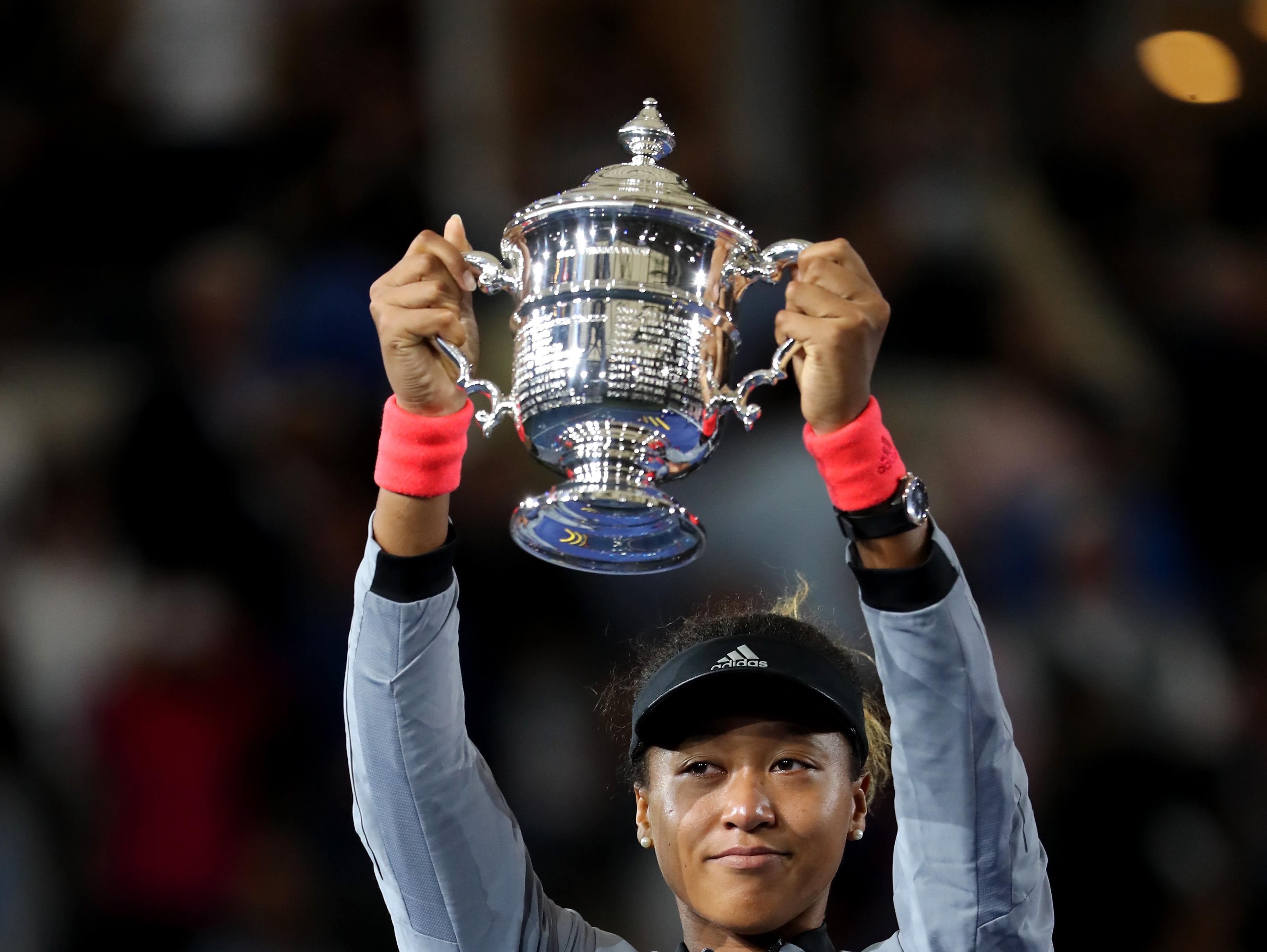 נאומי אוסקה ניצחה את סרינה וויליאמס 2:6, 4:6 וזכתה באליפות ארה