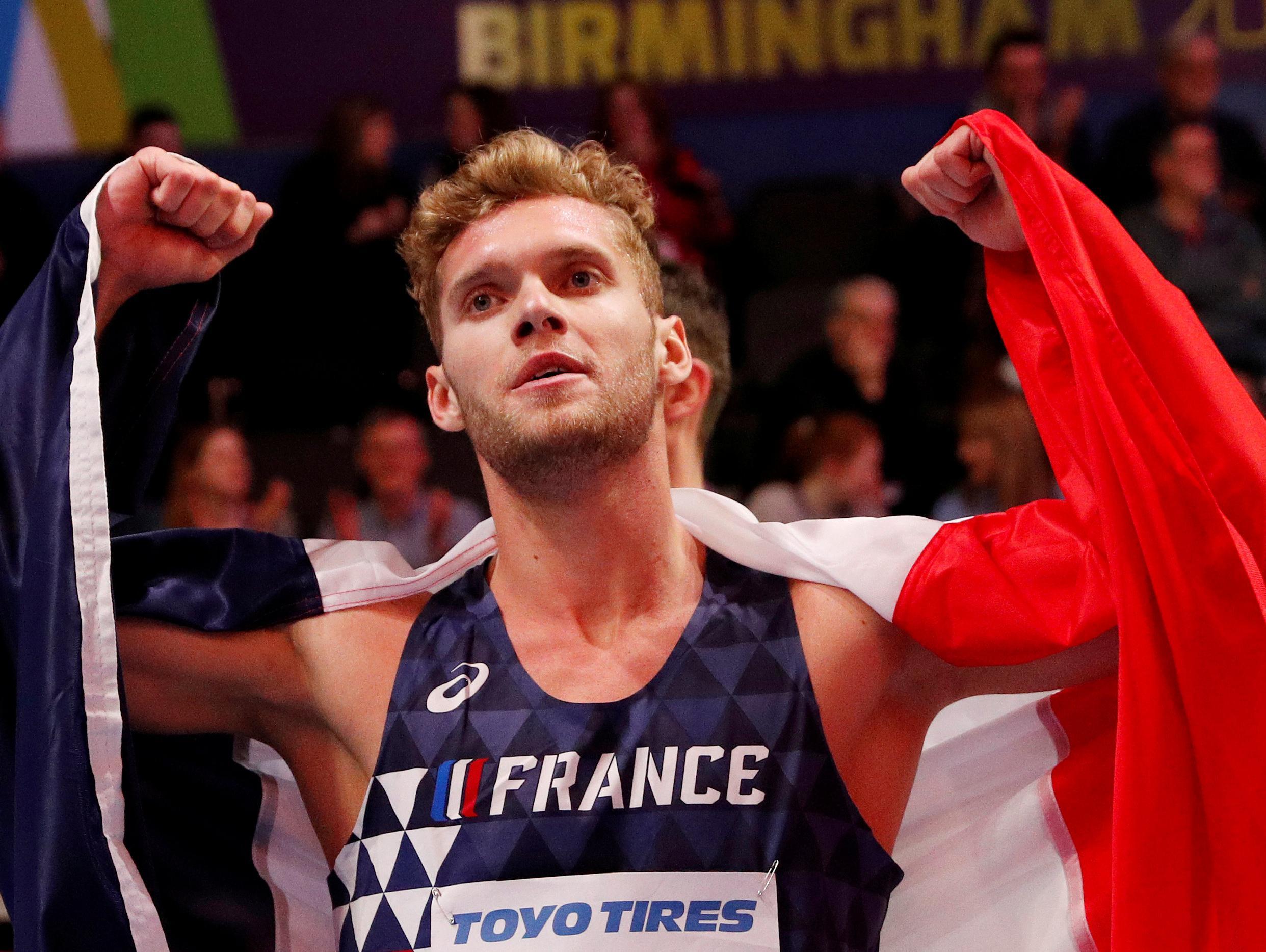 קווין מאייר הצרפתי שבר את שיא העולם בקרב 10