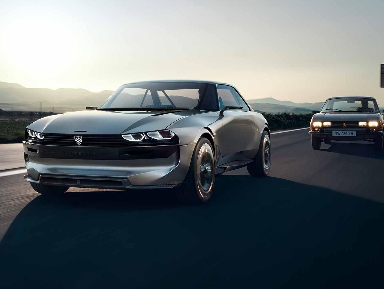הדרך לעתיד מתחילה בעבר: מכונית הקופה-קונספט של פיג'ו עושה חשק לנהוג