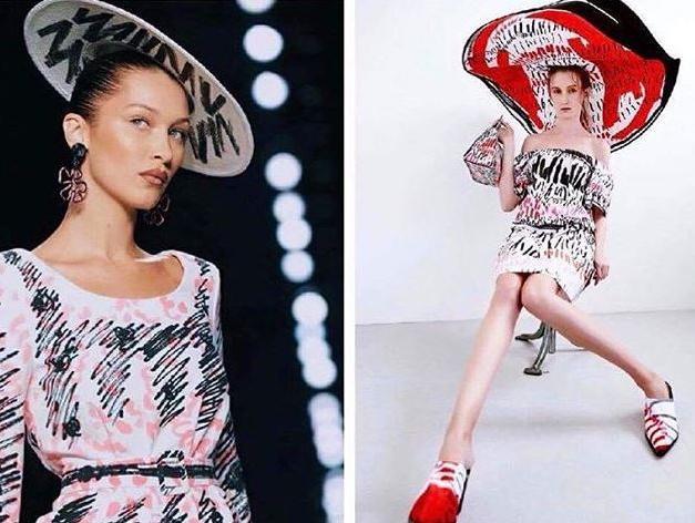 בית האופנה מוסקינו מעתיק ממעצבת אנונימית?