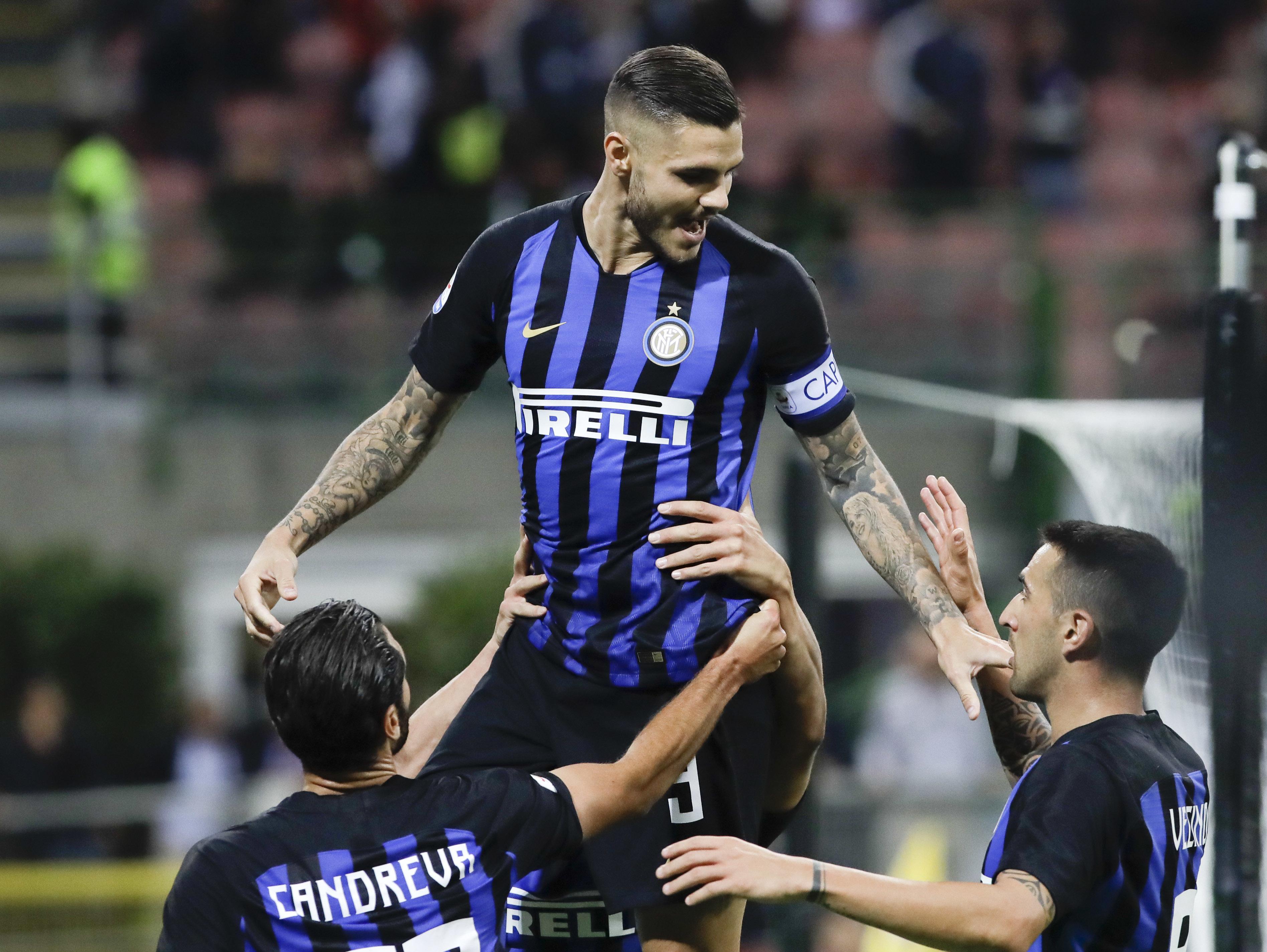 איטליה: אינטר ניצחה 1:2 את פיורנטינה והתקרבה אל הצמרת