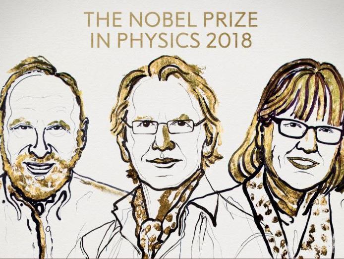 שלושה חוקרים זכו בפרס נובל לפיזיקה על המצאות בתחום הלייזר