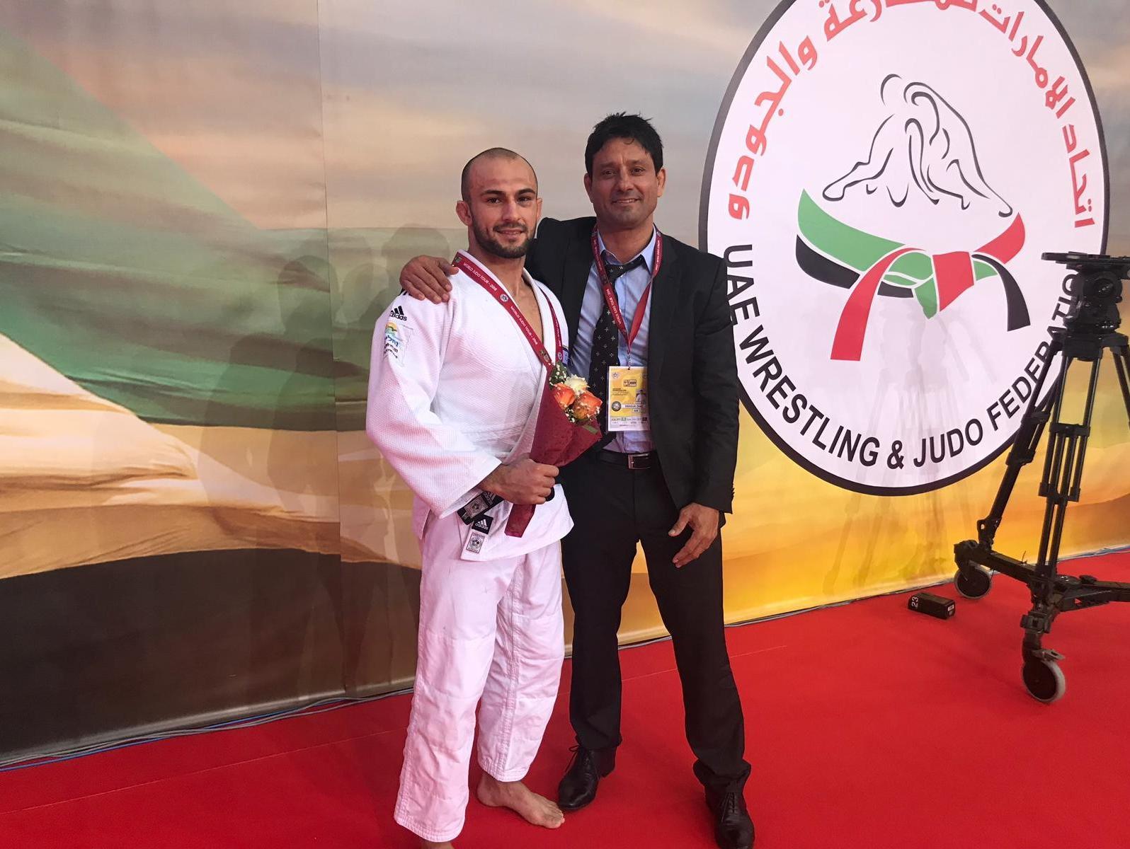 ג'ודו: ברוך שמאילוב זכה במדליית כסף בגרנד פרי האג