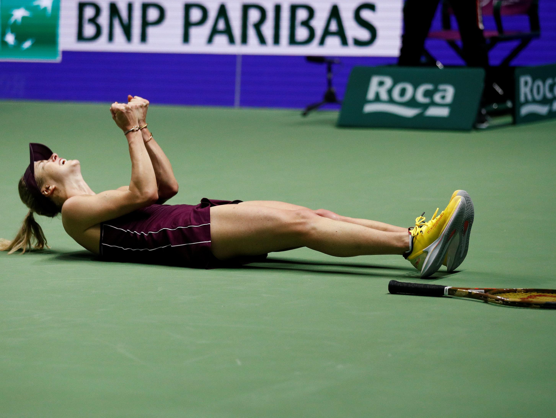 אלינה סביטולינה זכתה בטורניר גמר הסבב עם מאזן מושלם