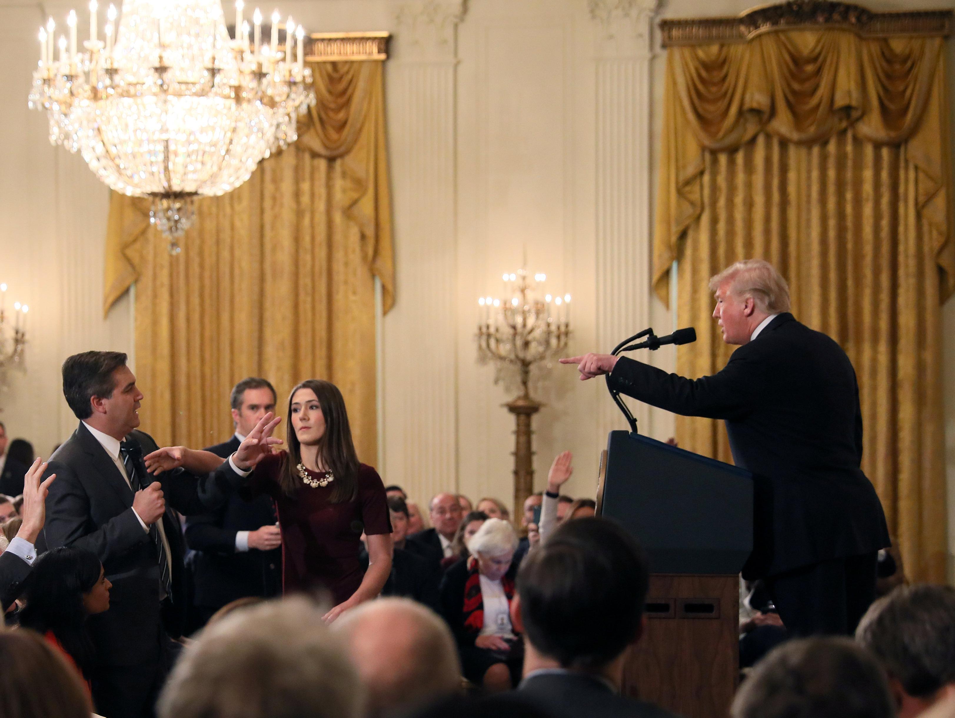 ניצחון ל-CNN: הכתב שסולק על ידי טראמפ יוכל לסקר את הבית הלבן