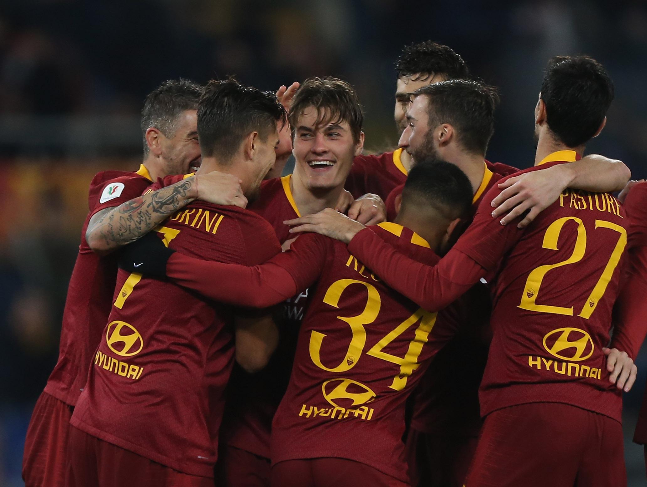 גביע איטלקי: 0:4 קליל לרומא, תפגוש את פיורנטינה ברבע הגמר