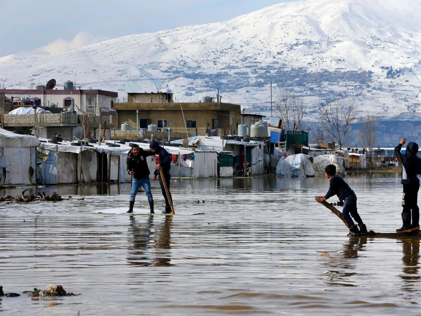 בשל הכפור העז: 15 ילדים קפאו למוות במחנות פליטים ברחבי סוריה