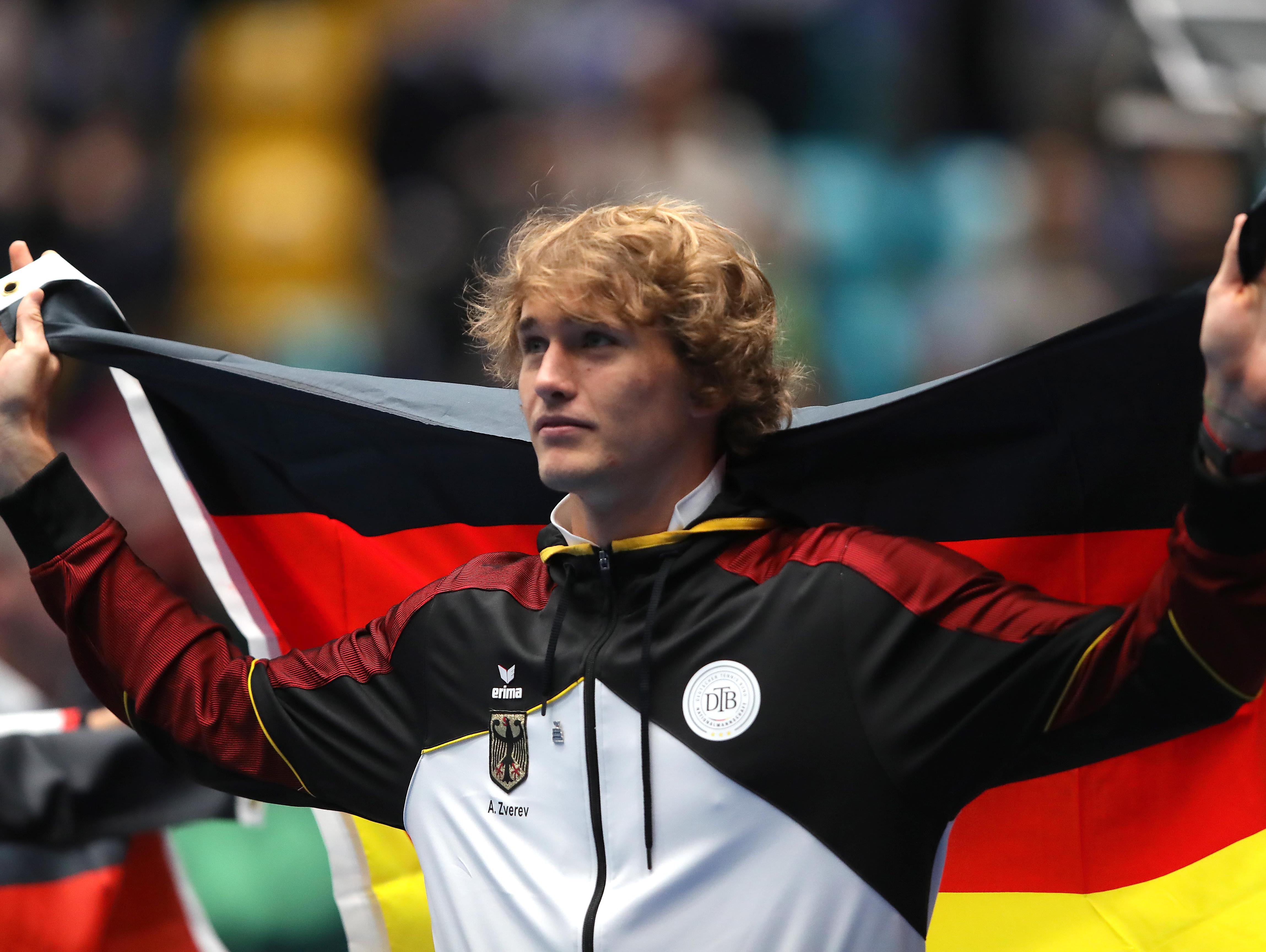 גביע דייויס: סשה זברב הוביל את גרמניה לטורניר הגמר