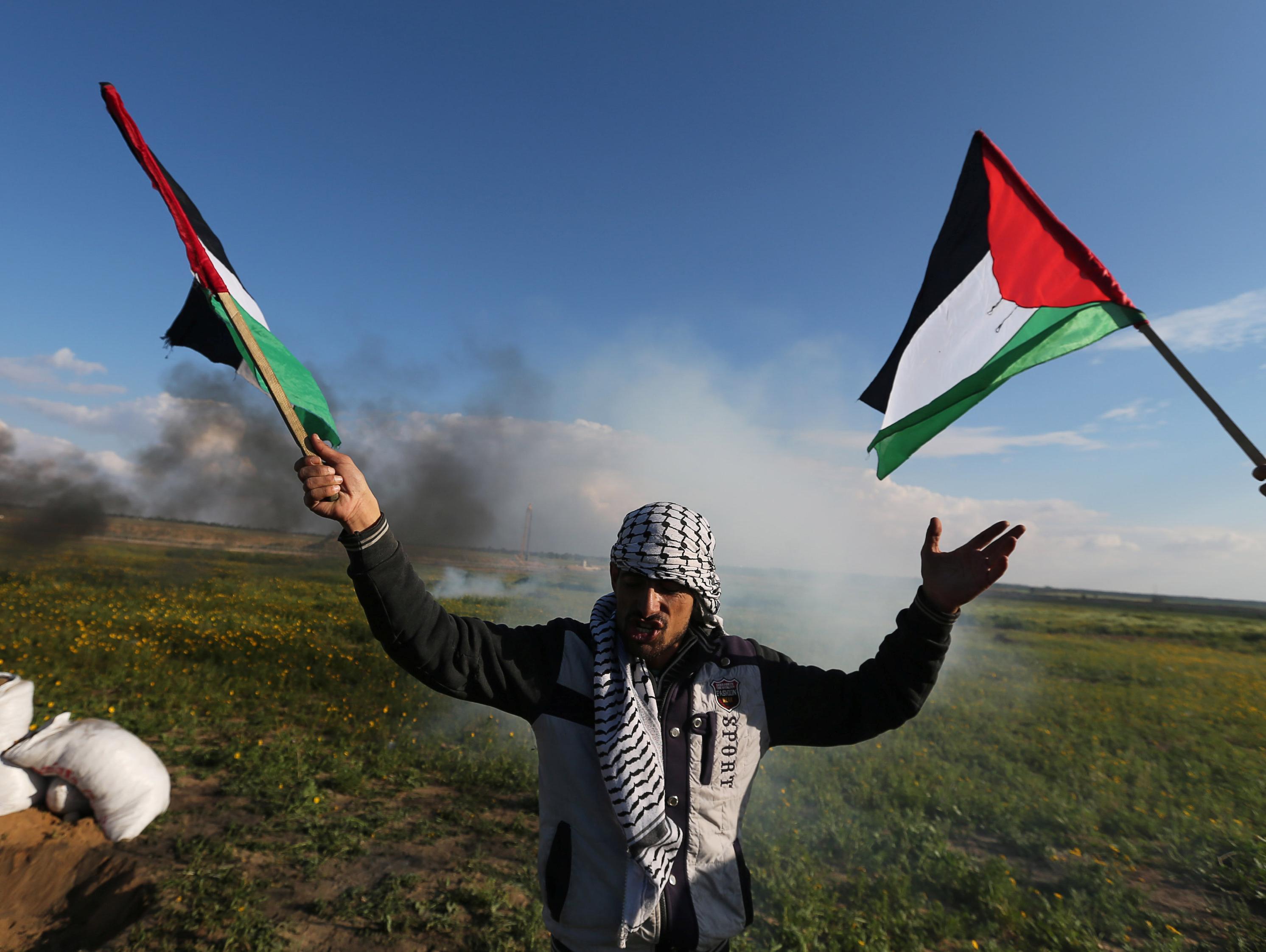 הפלסטינים: נער נורה למוות בעימותים עם צה