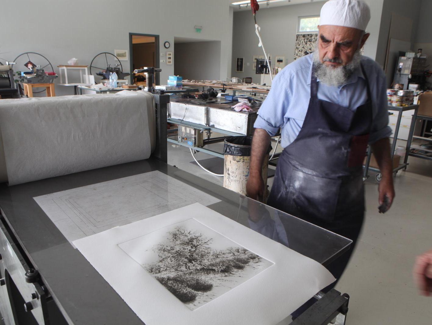 וליד אבו שקרה, מחשובי האמנים הפלסטינים בדורנו, הלך לעולמו