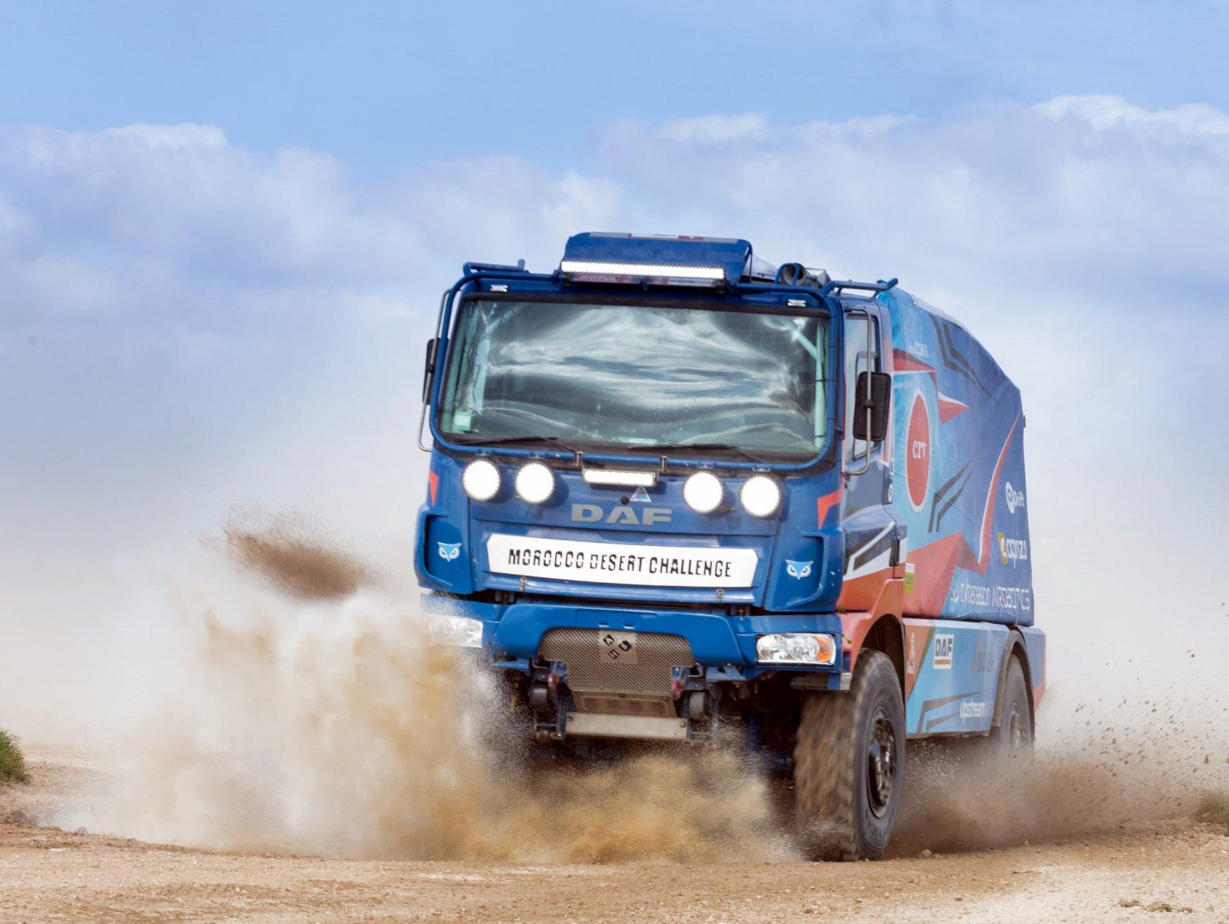 משאית ושמה תשוקה: 900 כוח סוס דוהרים בשדות העמק