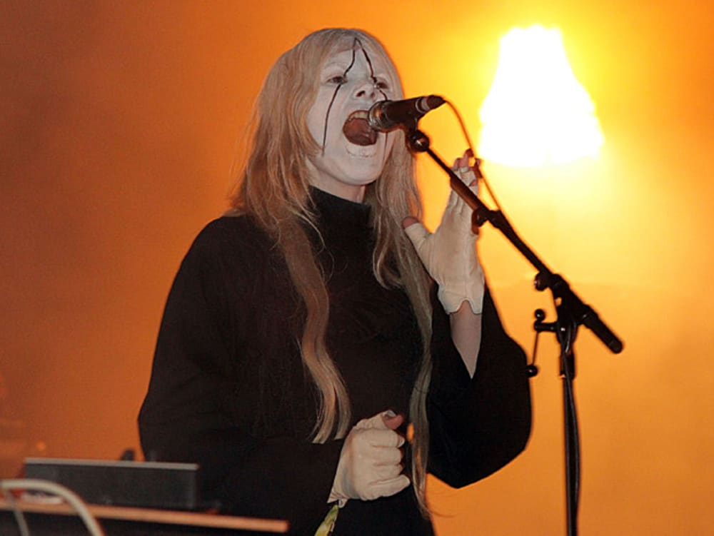 Fever Ray בהופעה (GettyImages , Noel Vasquez)