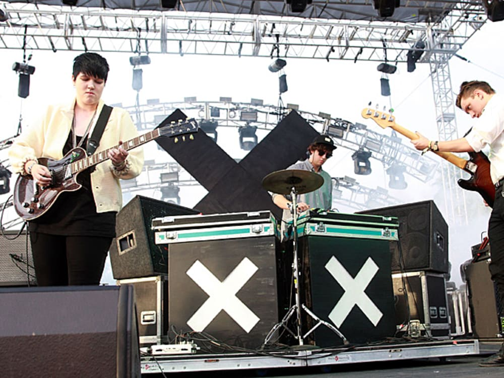 The XX בהופעה (GettyImages)