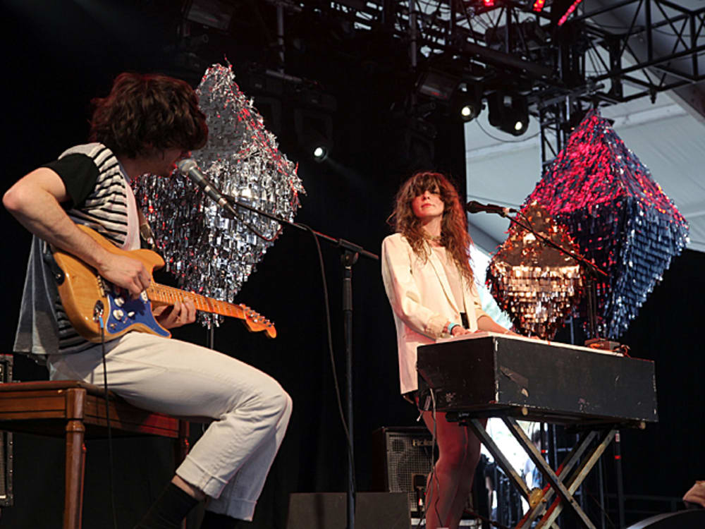 Beach House בהופעה (GettyImages)