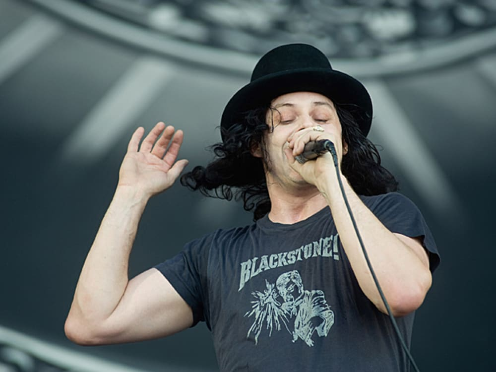 ג'ק ווייט בהופעה עם Dead Weather (GettyImages , Ian Gavan)