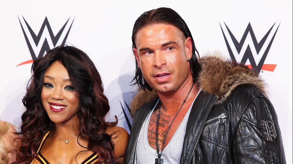 טים ויזה (ימין), מתאבק WWE גרמני. GettyImages