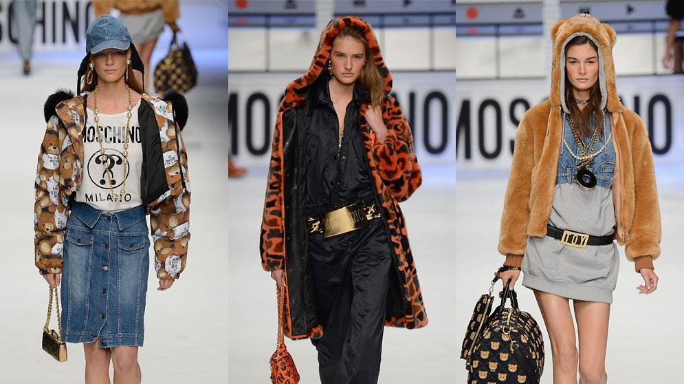 מוסקינו שבוע האופנה במילאנו סתיו-חורף 2015-16. GettyImages