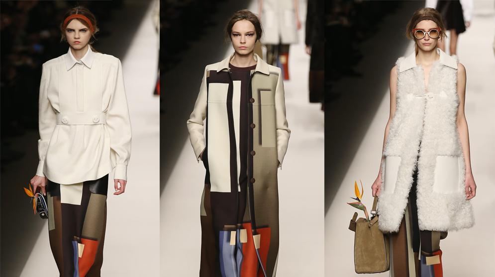 פנדי שבוע האופנה במילאנו סתיו-חורף 2015-16. GettyImages