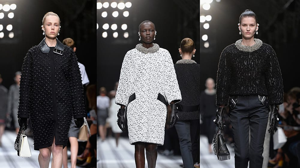בלנסיאגה שבוע האופנה בפריז סתיו-חורף 2015-16