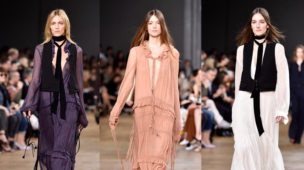 קלואה שבוע האופנה בפריז סתיו-חורף 2015-16