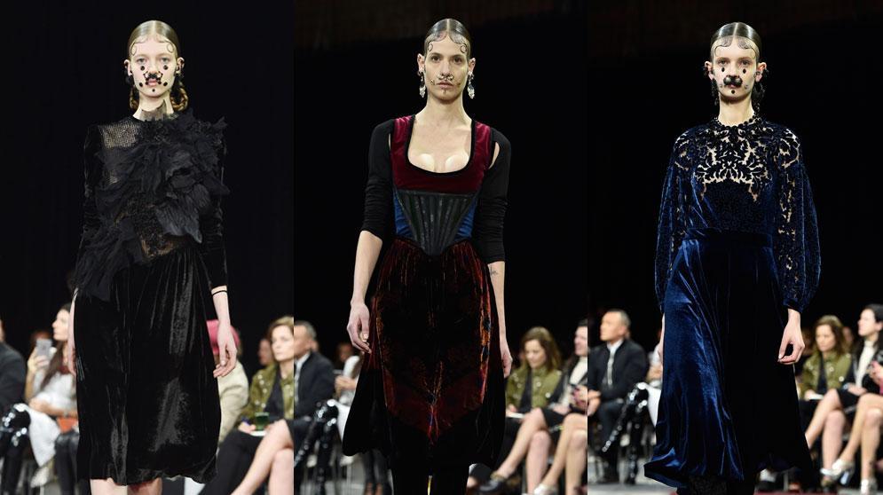 ז'יבנשי שבוע האופנה בפריז סתיו-חורף 2015-16