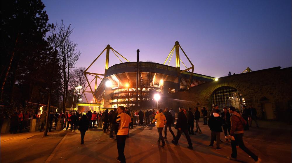 אצטדיון וסטפאלן שטאדיון לפני המשחק בין דורטמונד לבין יובנטוס. GettyImages