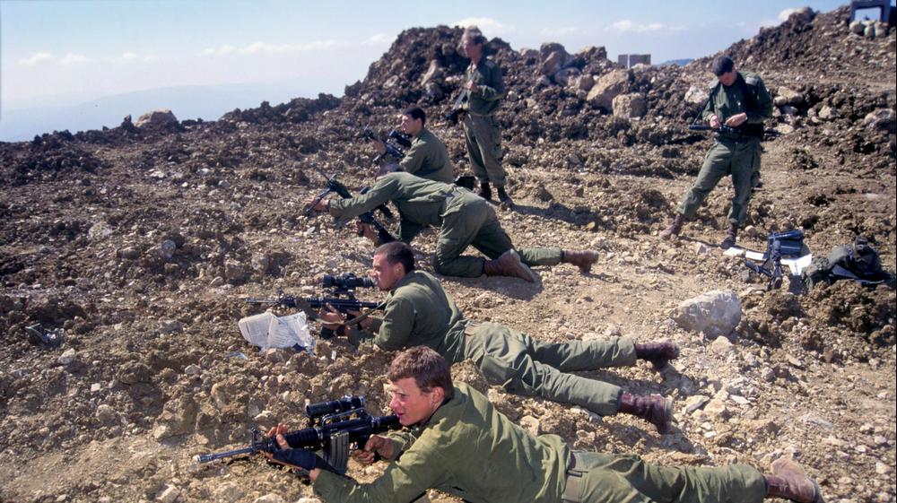 23.3.1995 דרום לבנון, מוצב ריחן