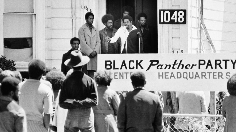 """פעילות """"הפנתרים השחורים"""" בסוף שנות ה-60 ותחילת שנות ה-70, ארה""""ב. AP"""