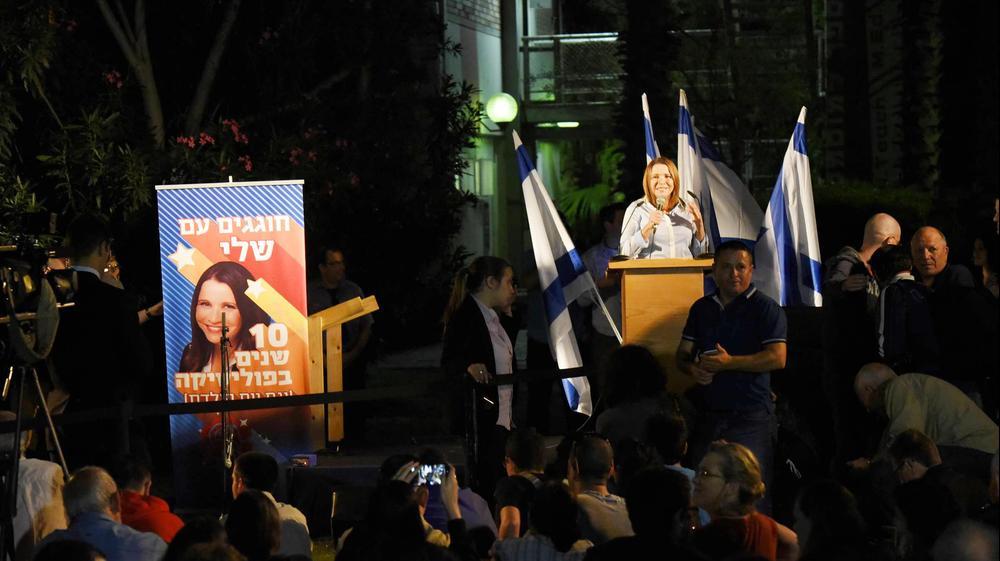 חברת הכנסת שלי יחימוביץ' חוגגת עשור בפוליטיקה ומסיבת יומהולדת בסמינר הקיבוצים. ראובן קסטרו