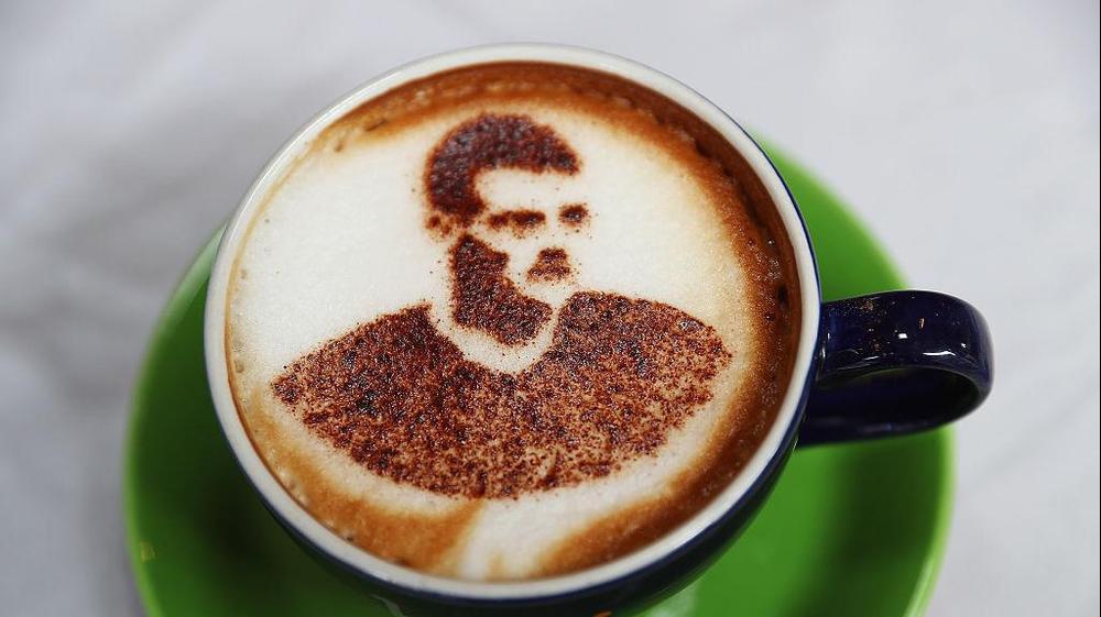 ורדיצ'ינו - קפה עם תמונתו של ג'יימי ורדי, לסטר סיטי. GettyImages