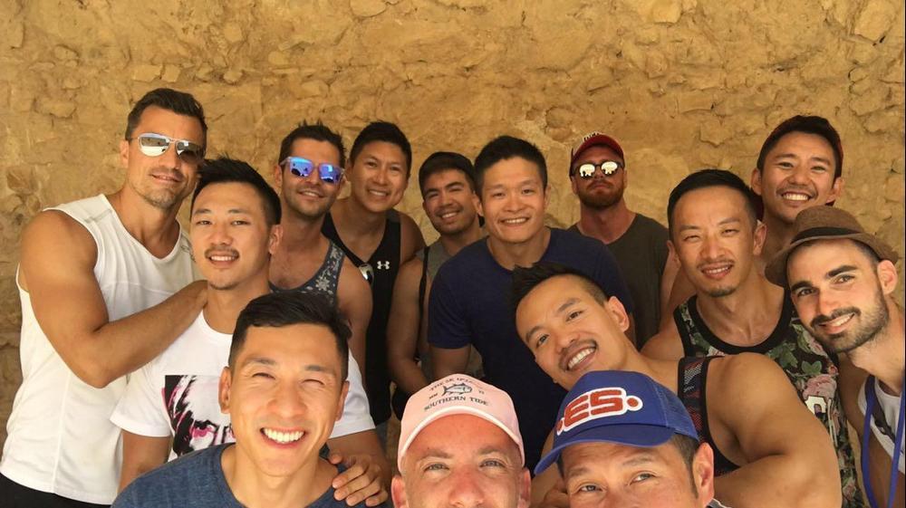 תיירים גייז מאסיה בארץ