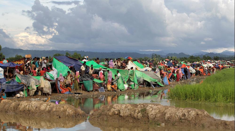 גל הפליטים המוסלמים במיאנמר. רויטרס