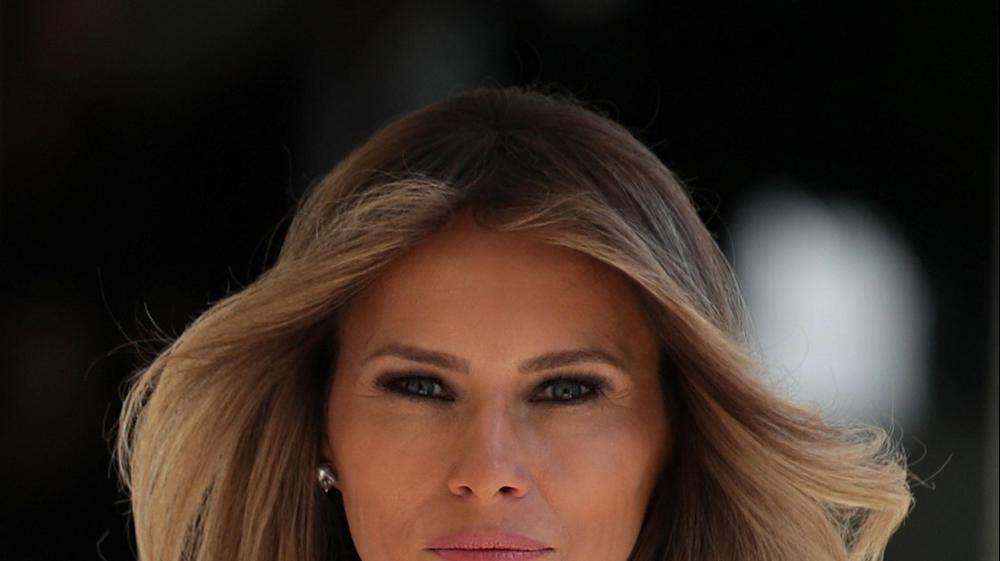 הגברת הראשונה של ארצות הברית מלאניה טראמפ. GettyImages