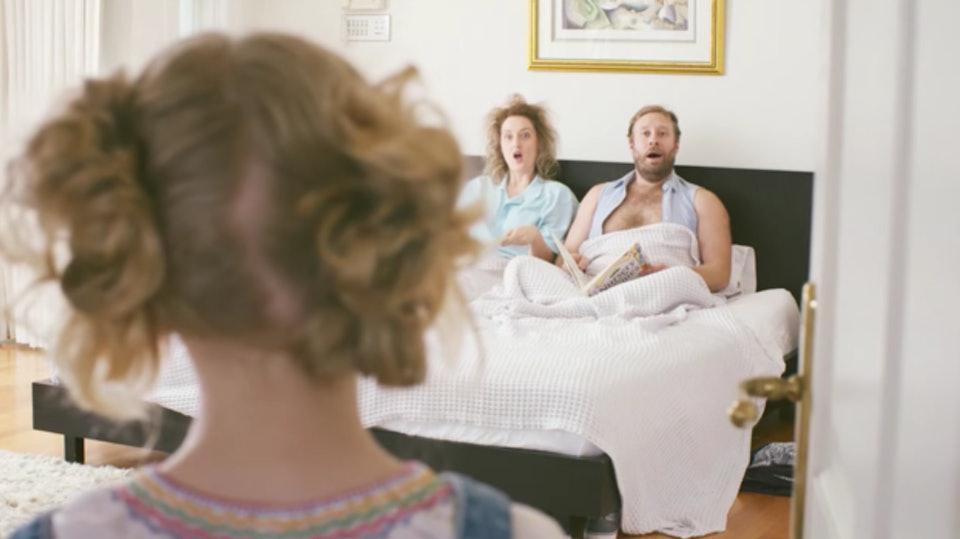ילדים מפריעים להורים לעשות סקס. ShutterStock