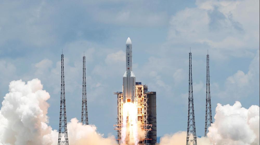 שיגור החללית הסינית טיאנון-1 למאדים 23 ביולי 2020. רויטרס