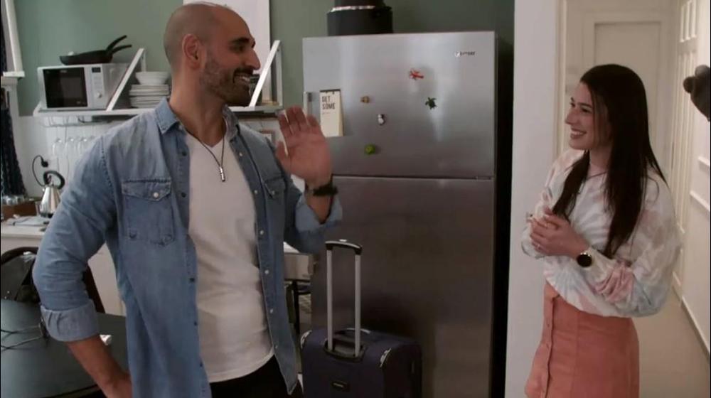 """אהבה חדשה, נועה כסיף, שוקי מאיר. """"אהבה חדשה"""", רשת 13, צילום מסך"""
