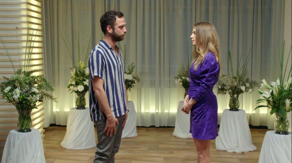 """רונה ויותם. מתוך """"אהבה חדשה"""" רשת 13, צילום מסך"""