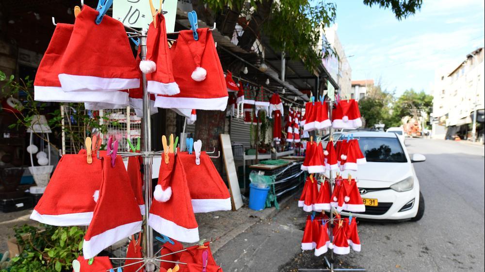 לקראת הכריסמס וחג המולד | היערכות העיר נצרת בצל נגיף הקורונה 24 בנובמבר 2020. ראובן קסטרו