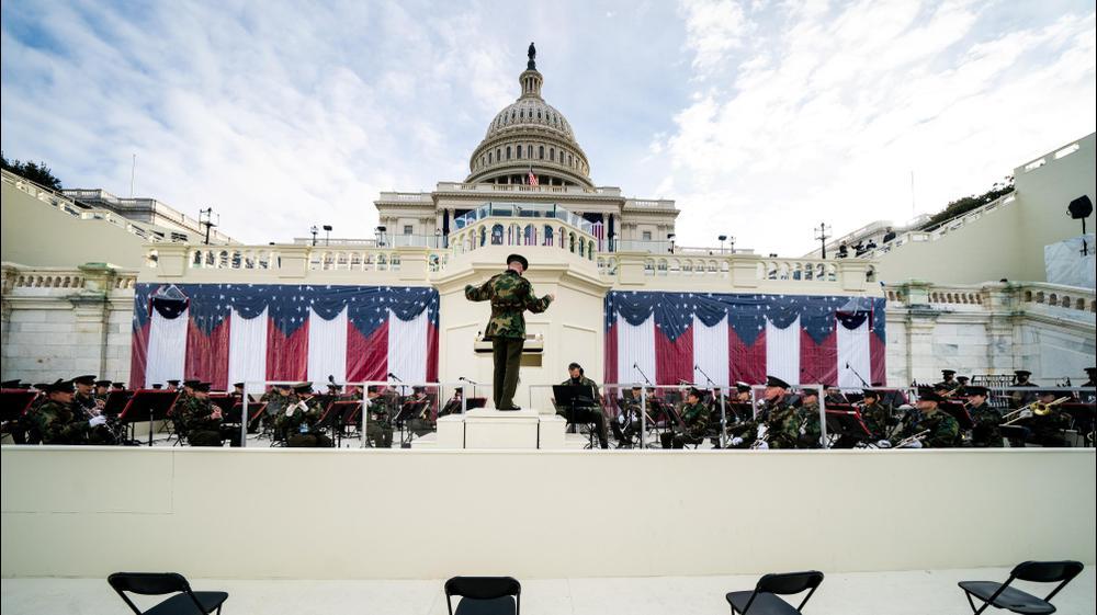 חזרה לקראת השבעתו של הנשיא האמריקני הנבחר ג'ו ביידן בוושינגטון. רויטרס