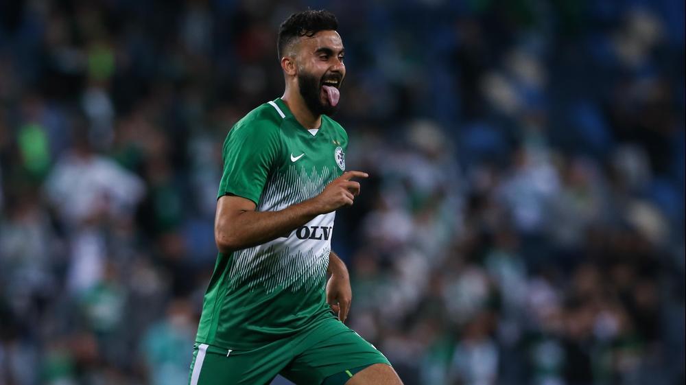 מוחמד עוואד שחקן מכבי חיפה. מאור אלקסלסי
