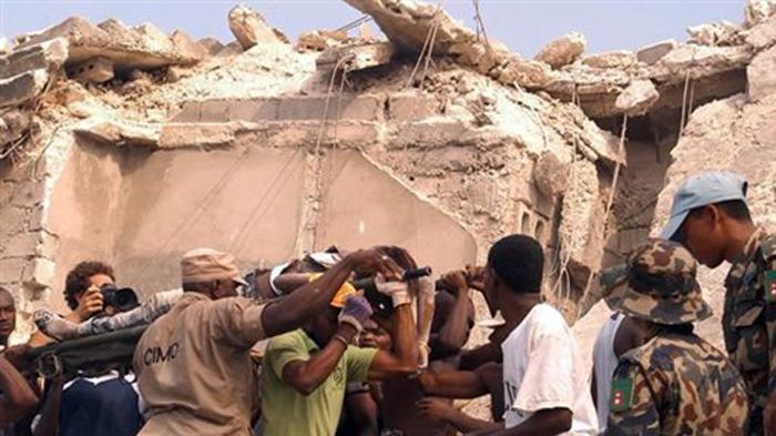 רעידת אדמה בהאיטי. Radio Tele Ginen, AP