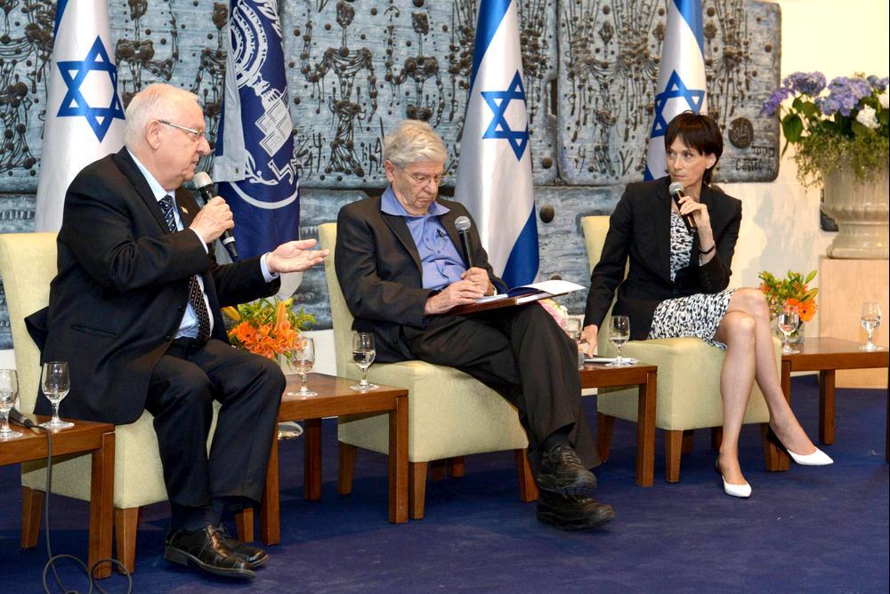 צמרת המשפט בישראל התארחה במשכן הנשיא, אפריל 2015 (לשכת העיתונות הממשלתית , מארק ניימן)