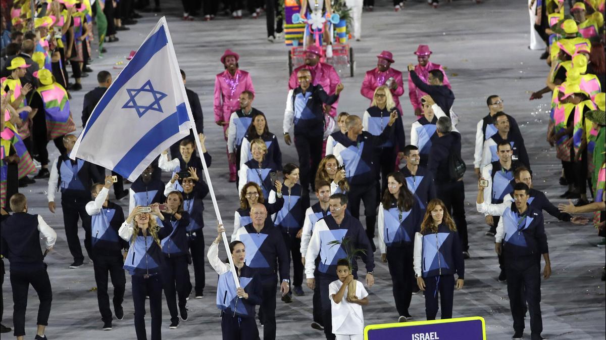 Olympics black hand israeli athletes — img 8