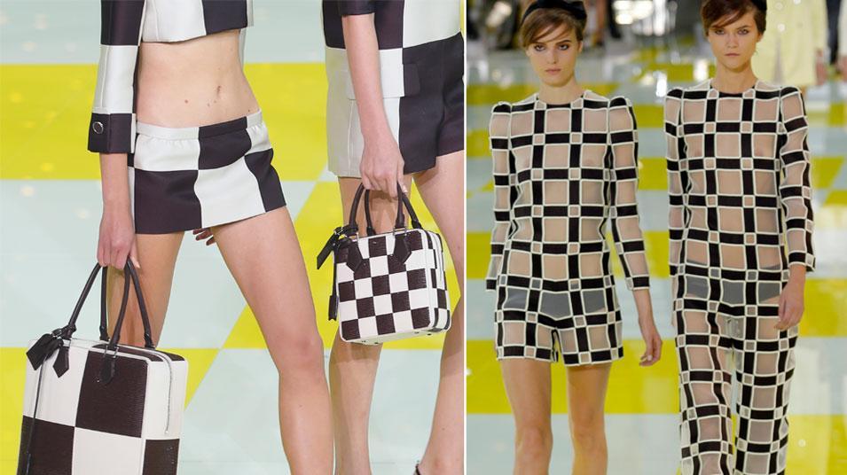 טרנד לאביב 2013: הקונטרסט והדוגמאות הגראפיות - וואלה! אופנה