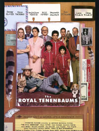 "כרזת הסרט the royal Tenenbaums (יח""צ)"