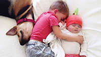 Naptime With Theo and Beau - צילומים מתוך הספר (אתר רשמי , מתוך הבלוג , http://www.mommasgonecity.com צילום: Jessica Shyba)