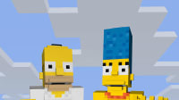 "TheSimpsons minecraft (יח""צ)"