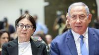 ראש הממשלה בנימין נתניהו ונשיאת בית המשפט העליון אסתר חיות - 17 ביוני 2019